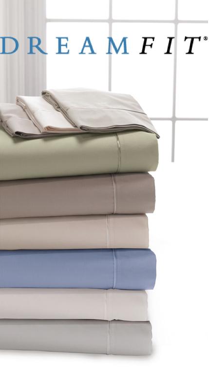 DreamFit Deg5 Premium Bamboo Pillow Case Pair by Dream Fit