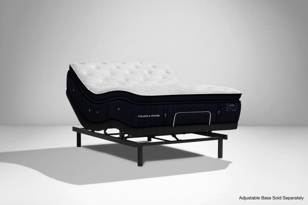 """Stearns & Foster Cassatt Luxury Plush Euro Pillow Top Lux Estate Mattress by Stearns & Foster, 15.25"""""""