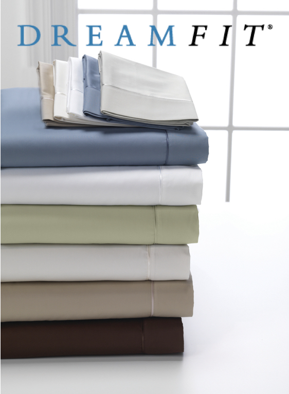 DreamFit Deg3 Select World-Class Cotton Sheet Set by Dream Fit