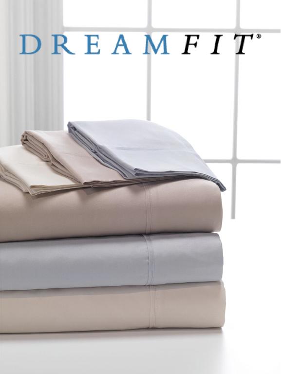 DreamFit DreamComfort Brushed Microfiber Sheet Set