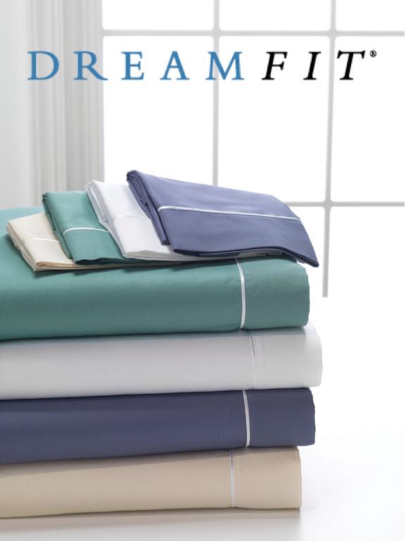 DreamFit DreamComfort 100% Long Staple Cotton Sheet Set