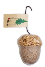 Mill Creek/Seed WFACORN Suet & Nut In shape of an Acorn.