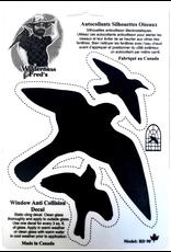 Wilderness Fred's WFBD90 Bird Alert Decal. Made in Canada