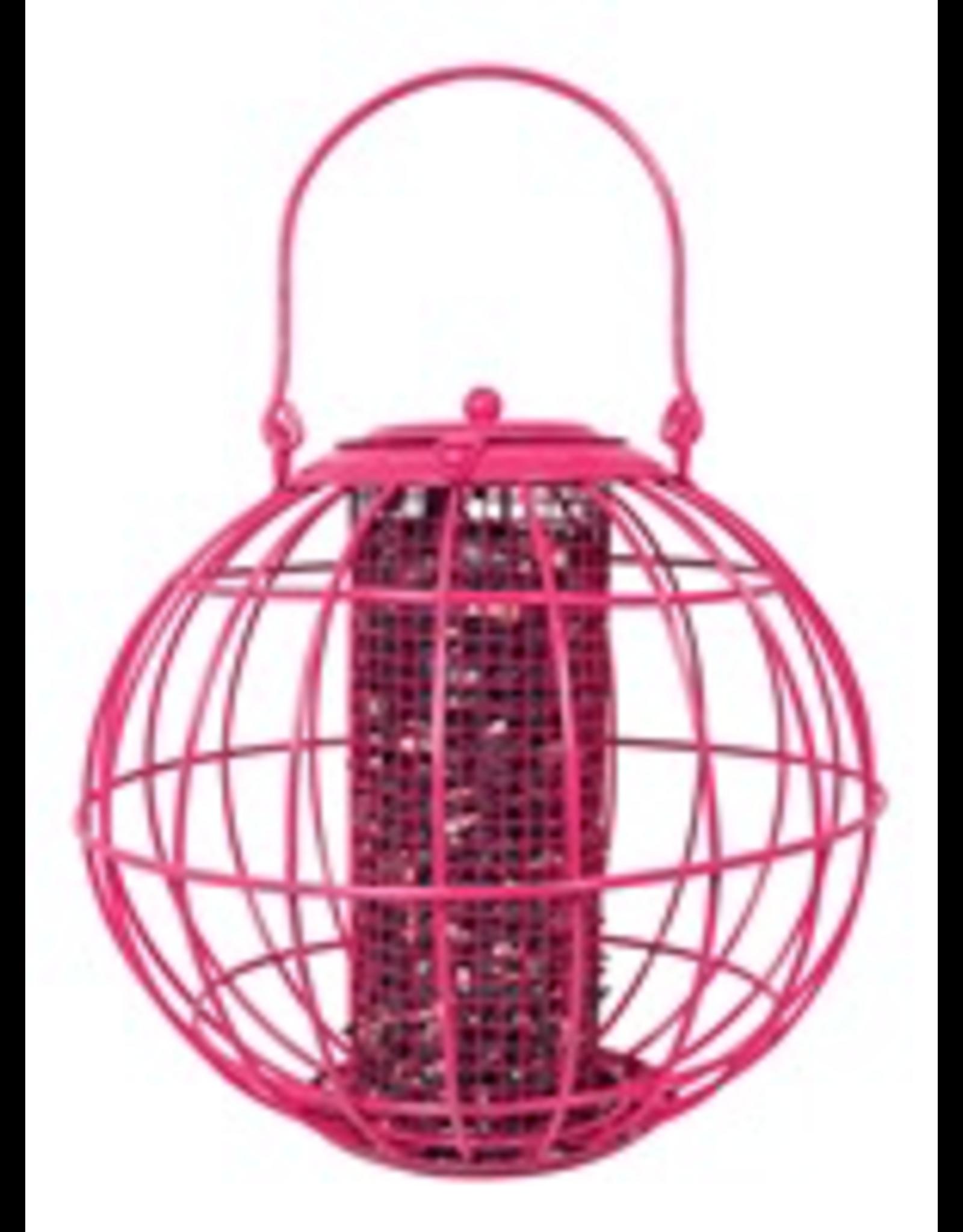 Pinebush PB10384 ROSE RED GLOBE BO/PNUT FEEDER-discontinued
