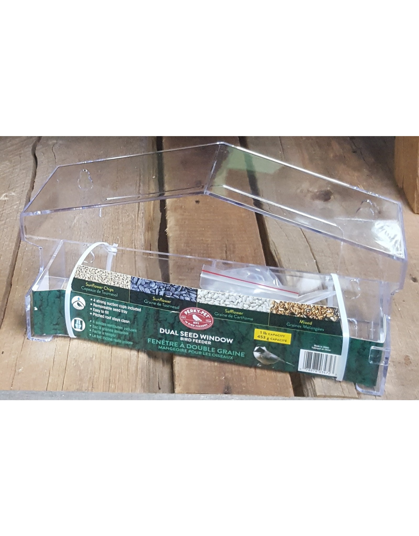 Perky Pet PP347 Perky Pet Large Plastic Window Feeder
