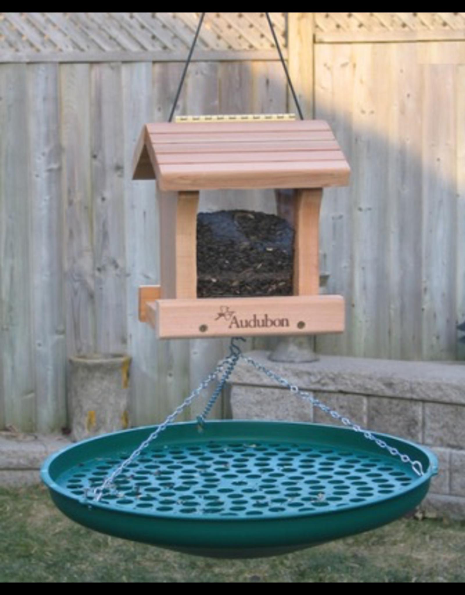 Wildbird Trading WFSDSCR Seed Saucer.  MADE IN CANADA