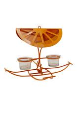 Woodlink WK25019 Oriole Orange Slice Oriole Feeder