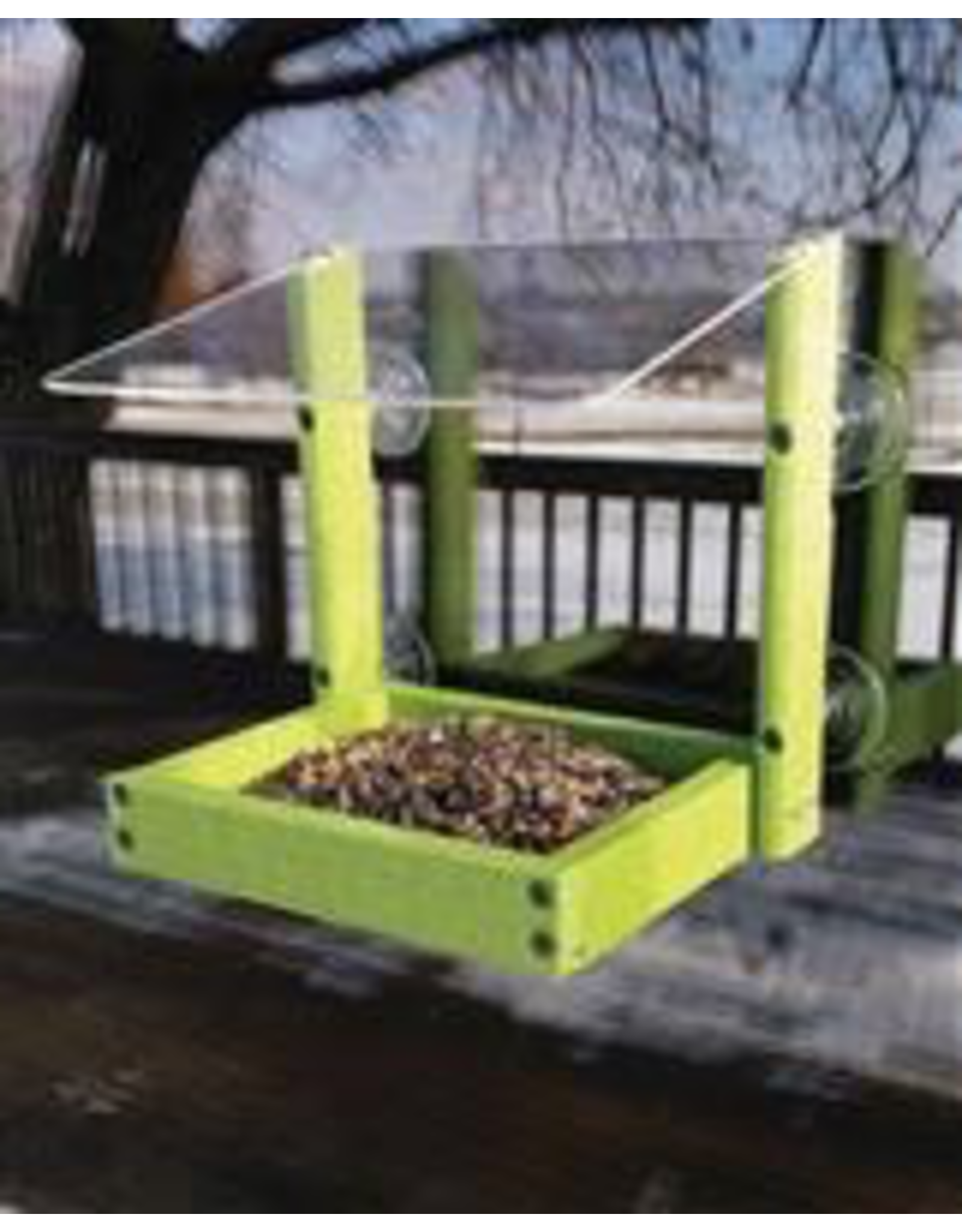 Woodlink WKGGWIN Going Green Window Feeder