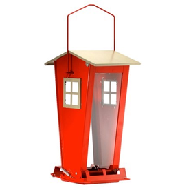 Audubon NA35194 Red Snack Shack Squirrel Resistant