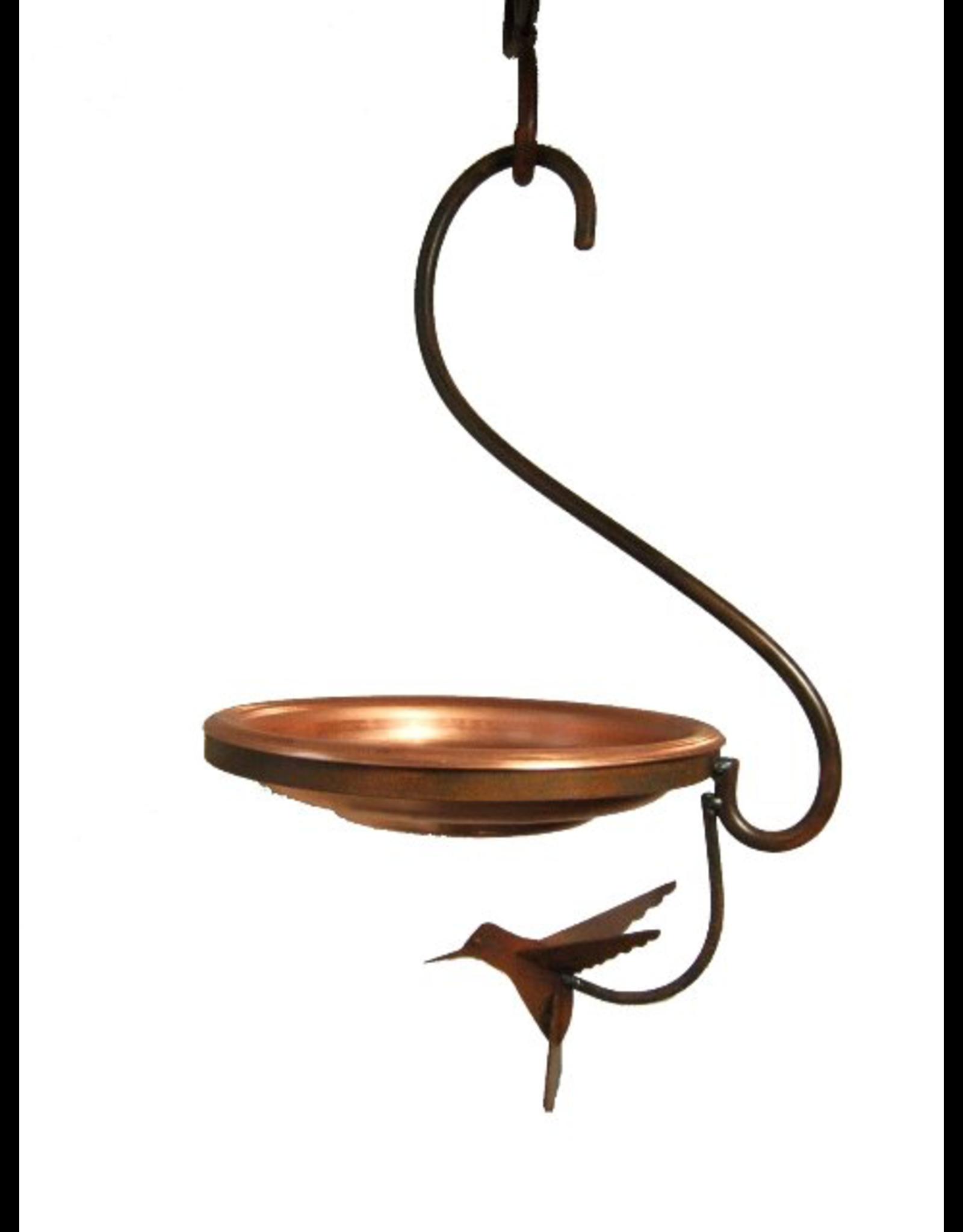 Martin House G.A. MH007 Hanging Brass Bird Bath. Made in Canada.