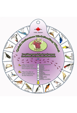 Wilderness Fred's WFID2000 Bird & Seed ID Wheel. MADE IN CANADA