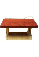 PYP Designs PYPEZR Large red roof cedar EZ fill Fly Thru . Made in Canada