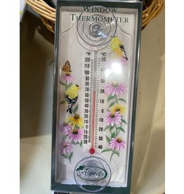 Aspects WHWT259 Goldfinches Thermometer
