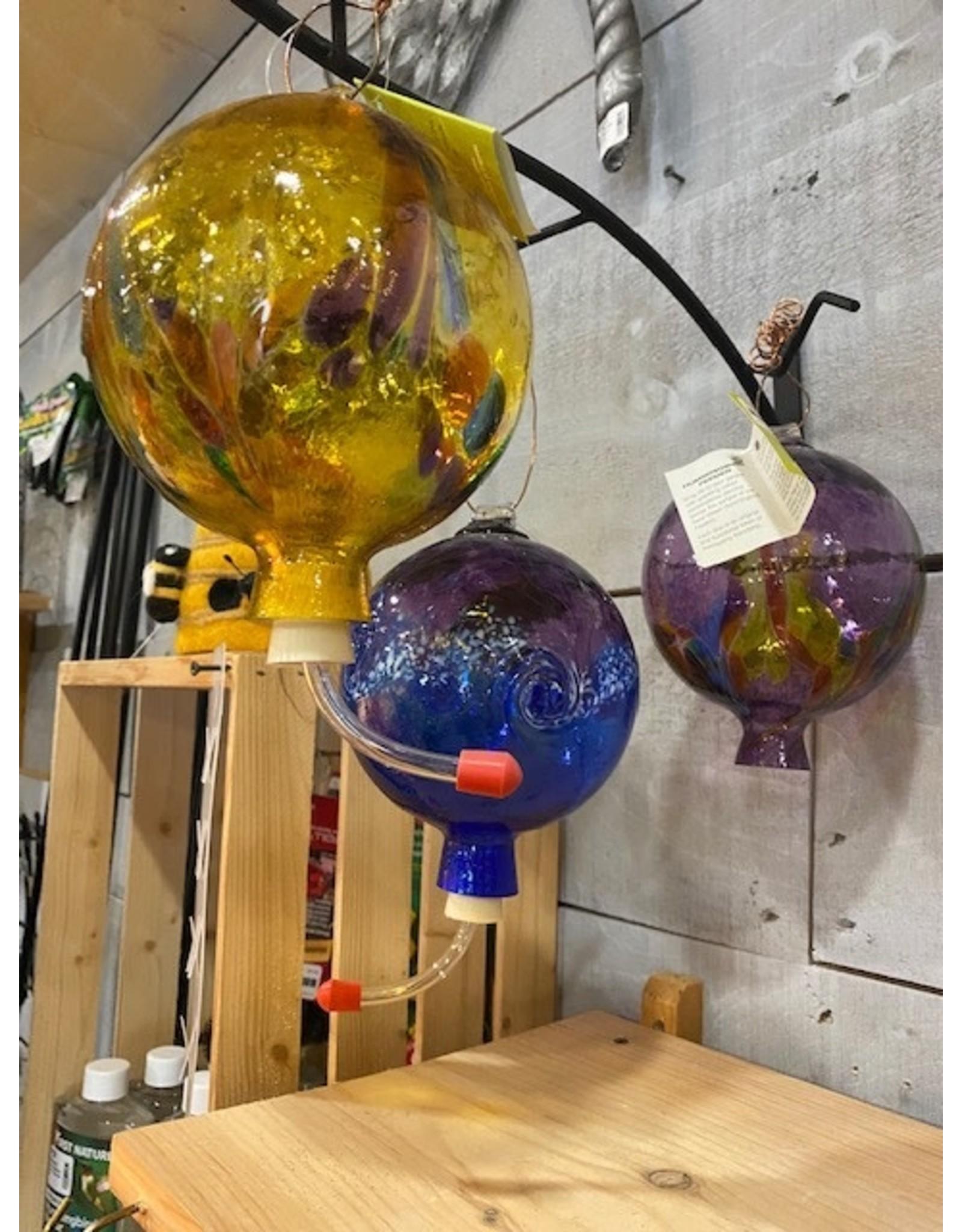 Kitras Art KAGHUM Kitras Art glass hummingbird feeder