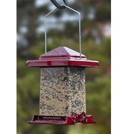 Woodlink WKWL75160 Reflective Red Vista Squirrel Resistant Feeder