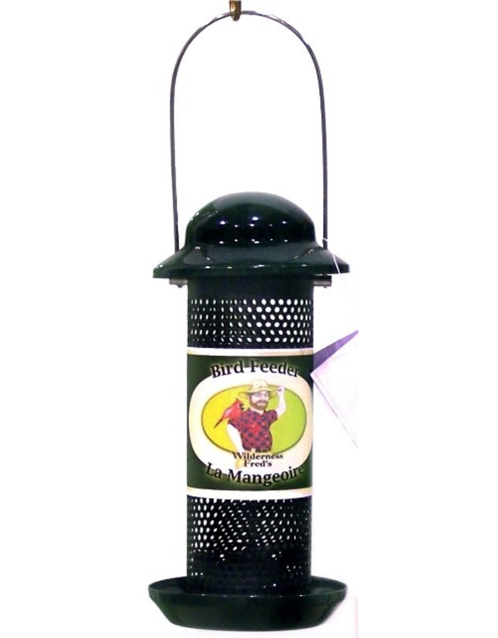 Wilderness Fred's WBBSF10 Mesh Nyjer feeder with tray