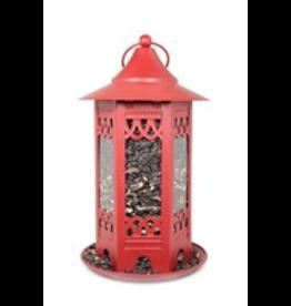 Pinebush PB10081 Deep Red Decorative Seed feeder