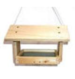 PYP Designs PYPFT Fly through feeder. Easy to fill. Screen bottom. Made in Canada.