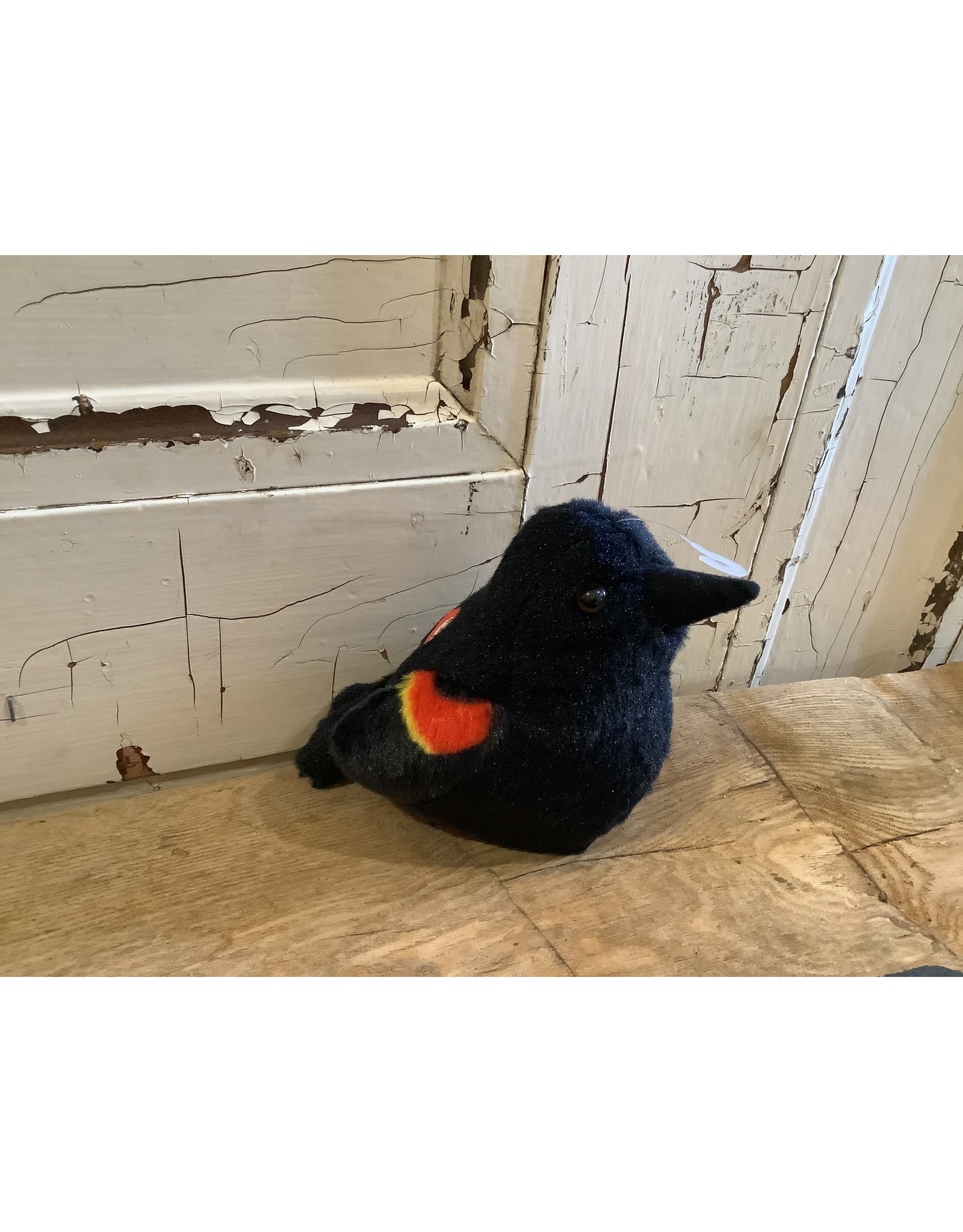 Audubon KMRWBLACK Red Wing Blackbird Stuffie