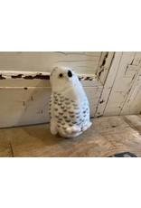 Audubon KMSNOW Snowy Owl Stuffie