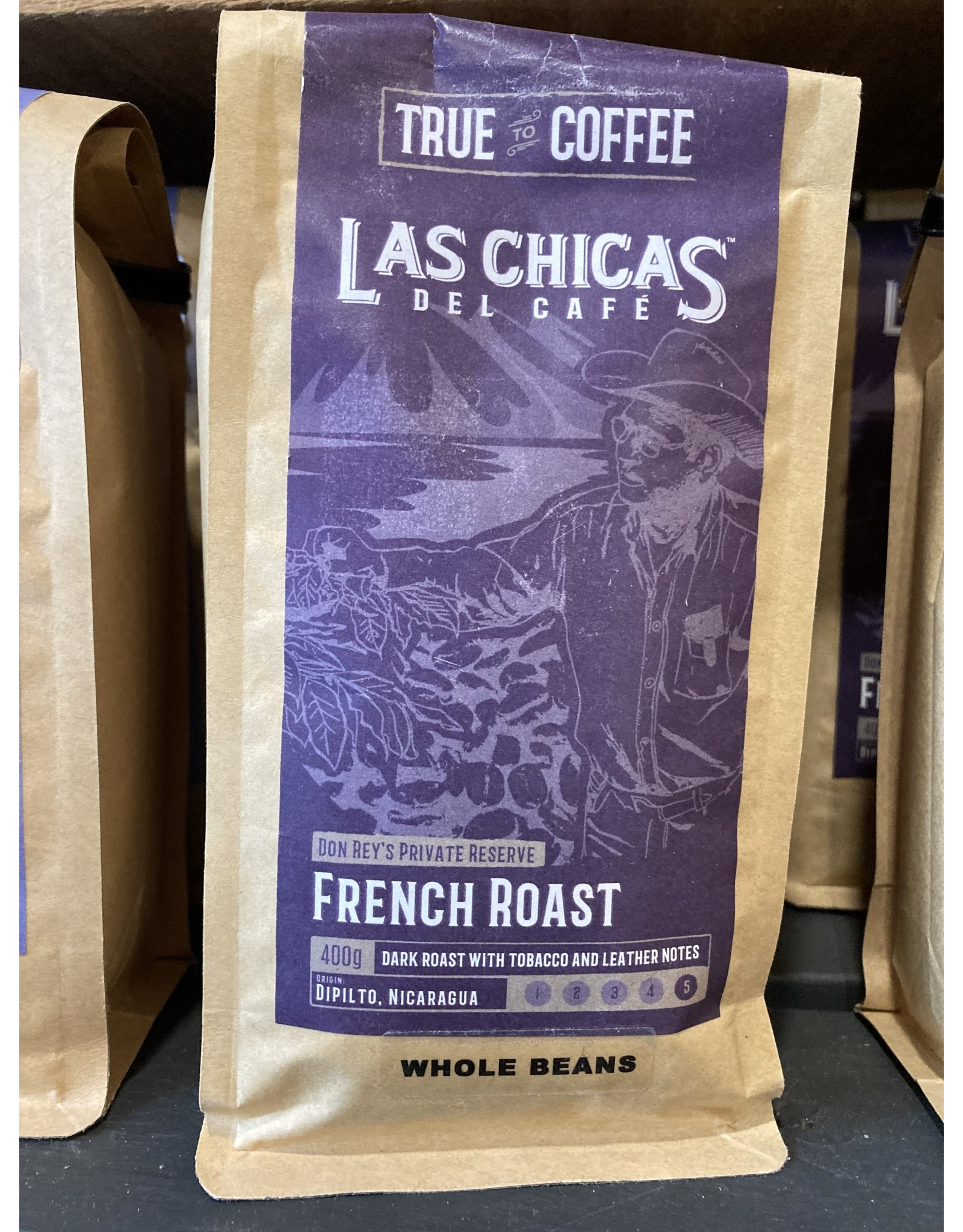 Las Chica's LCDCBFR Las Chica's French Roast , Whole Bean