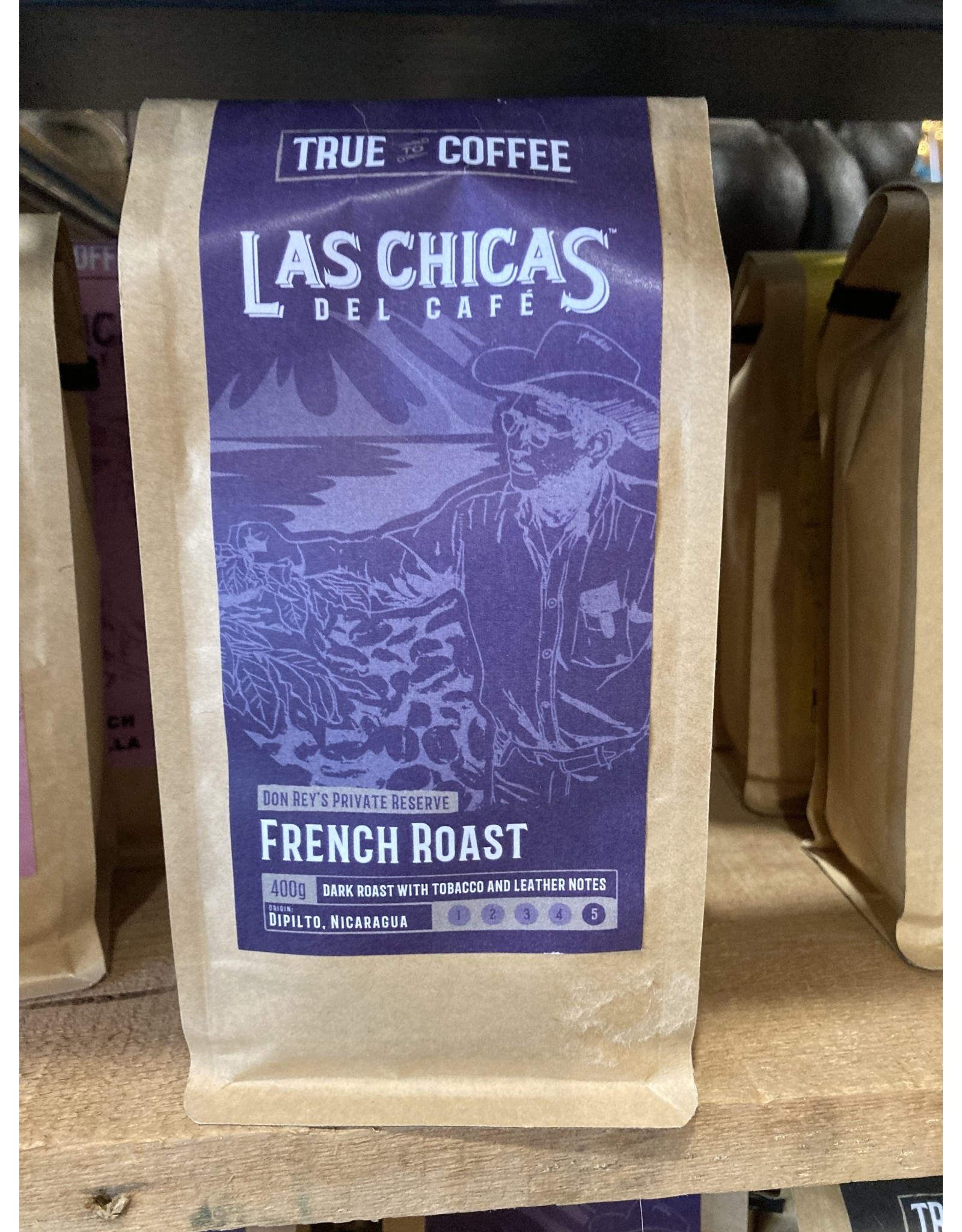 Las Chica's LLCDCGFRas Chicas French Roast Ground