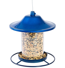 Perky Pet YH312B Blue Lantern Feeder