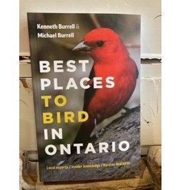 Greystone Books BURBEST Best Places to Bird in Ontario book