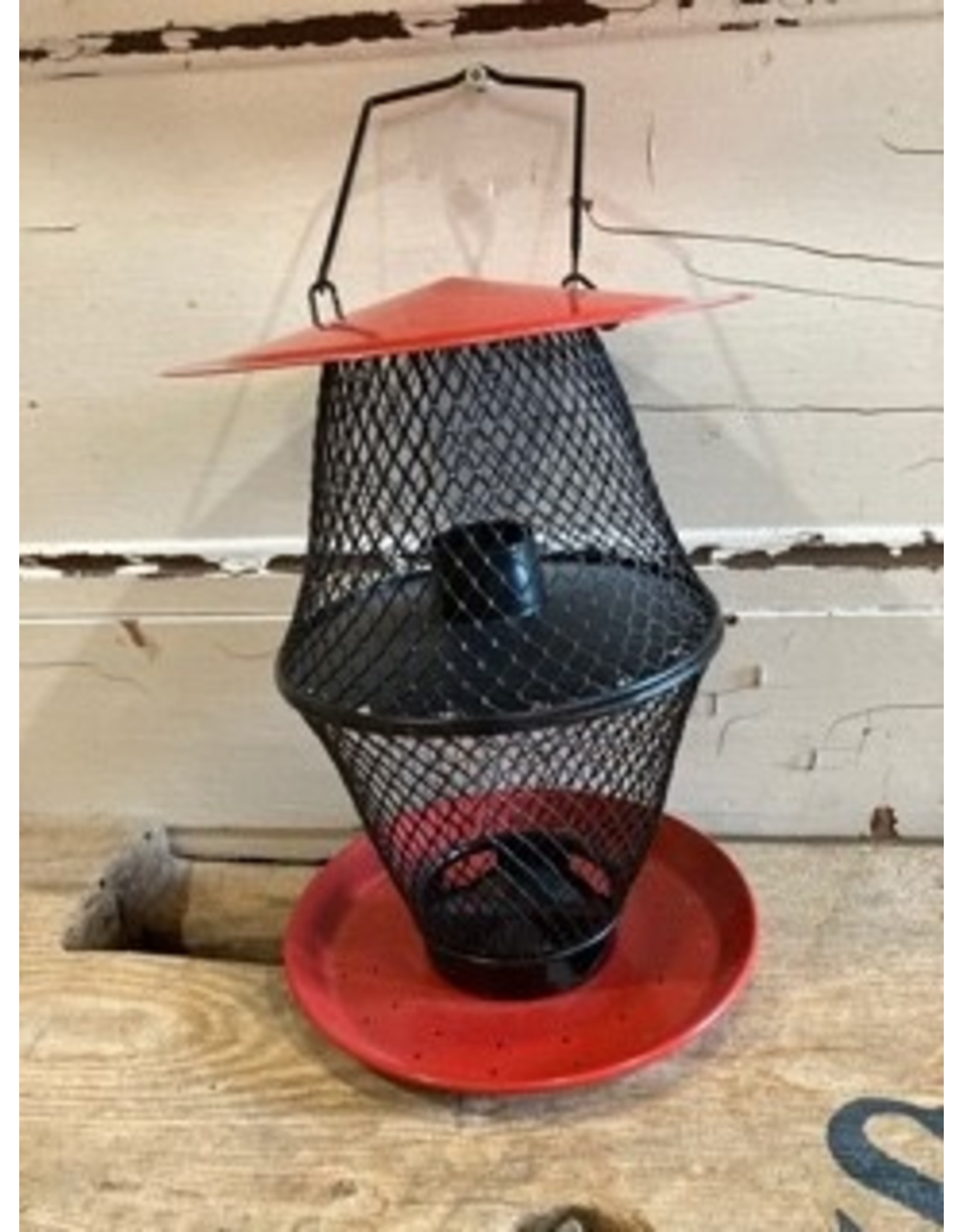 NoNo Feeders Discontinued WSCNCD003512PP Red NONO Double Lantern - Holds 1.7lb