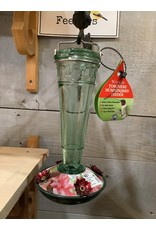 Woodlink WL35244 Green embossed hummingbird feeder - discontinued