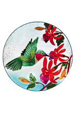 "Evergreen EE8567 18"" Birdbath Hummingbird Flutter"