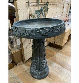 PANAM PAN47894 Teal Pedestal Birdbath