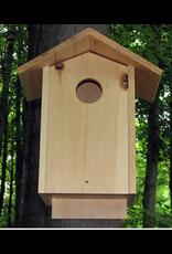 Animal House Creations AHC25 Screech Owl / Wood Duck House