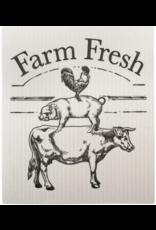 Edenborough EL11078 Swedish Dish Cloth-Farm Fresh