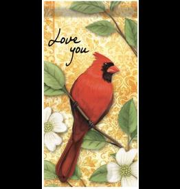 Edenborough EL43120L MIni Flag Love you Cardinal