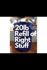 The Birdhouse Refill Program RIGHT20RF Refill from blue bucket 20lb