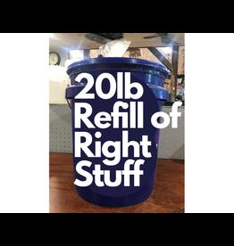 The Birdhouse Refill Program RIGHT20RF 20lb Refill from our blue bucket 20lb