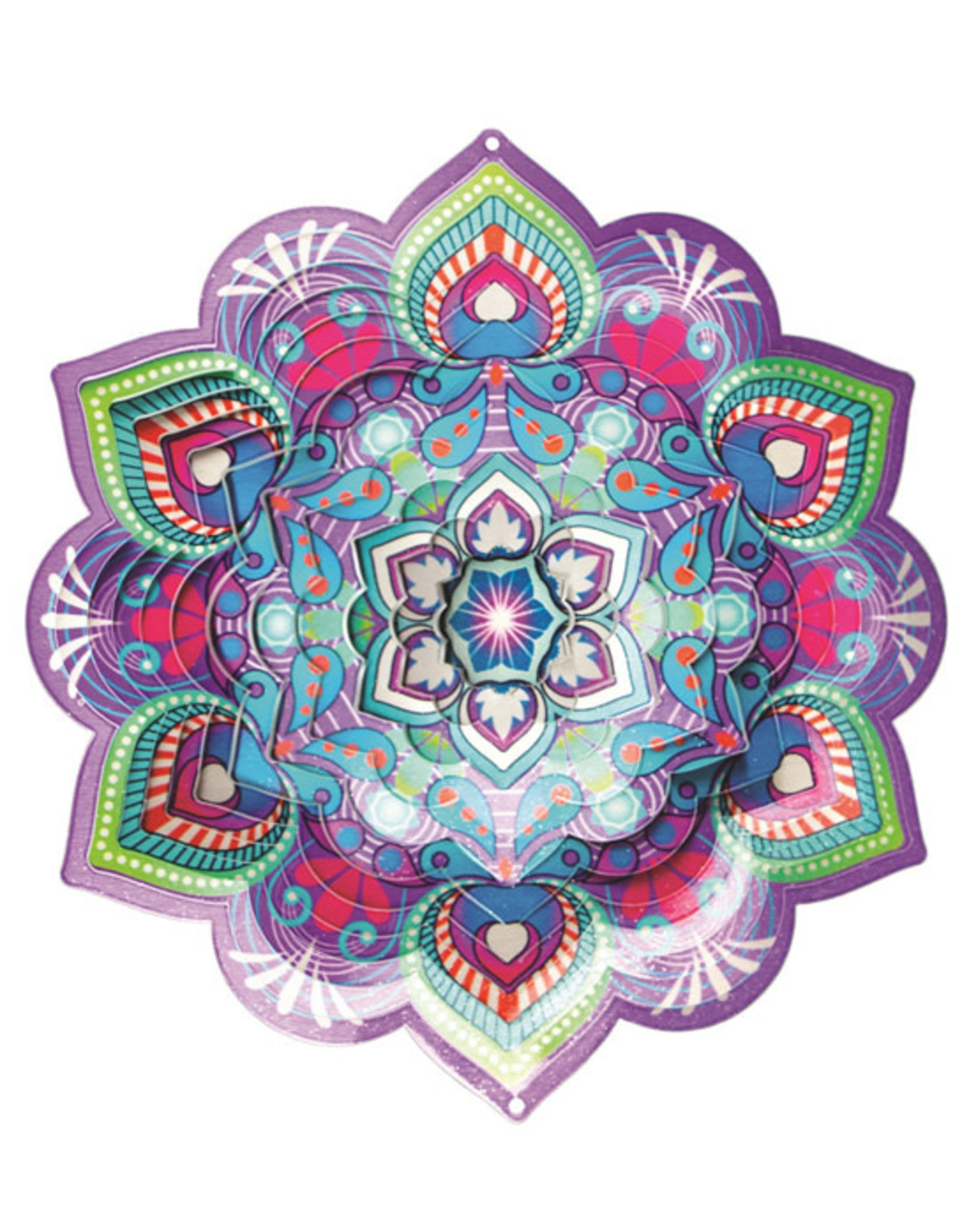 Spinfinity Designs CE175SS Wind spinner - Small Lotus