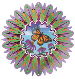 Spinfinity Designs CE323LL WIND SPINNER LARGE ANIMATED COLLECTION LARGE  BUTTERFLY