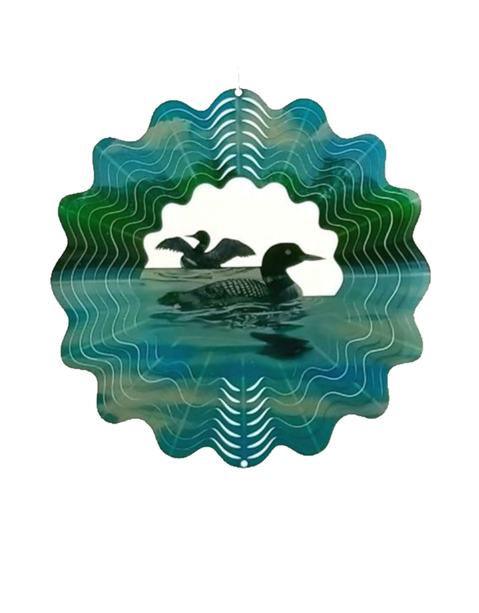 Spinfinity Designs CE602L LOON WIND SPINNER LARGE