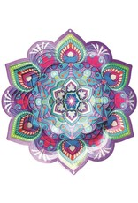Spinfinity Designs CE175LL WIND SPINNER LOTUS MANDALA COLLECTION LARGE