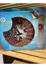 """Spinfinity Designs CE240X 12"""" WINDSPINNER BOXED SET 3D HUMMINGBIRD W/CRYSTAL TAIL"""