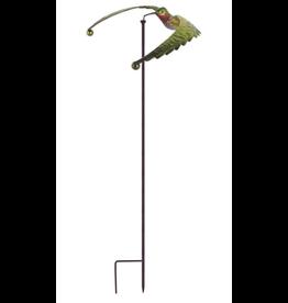 Sunset Vista Design Collection EL93493 Ruby Hummingbird  Balance Spinner