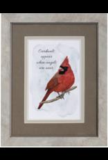 Carson EL23151 Framed Blessing - Cardinals Appear