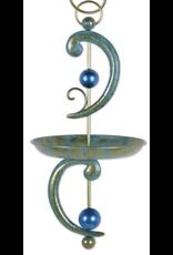 Sunset Vista Design Collection EL93586 Verdigris Swirl Birdfeeder