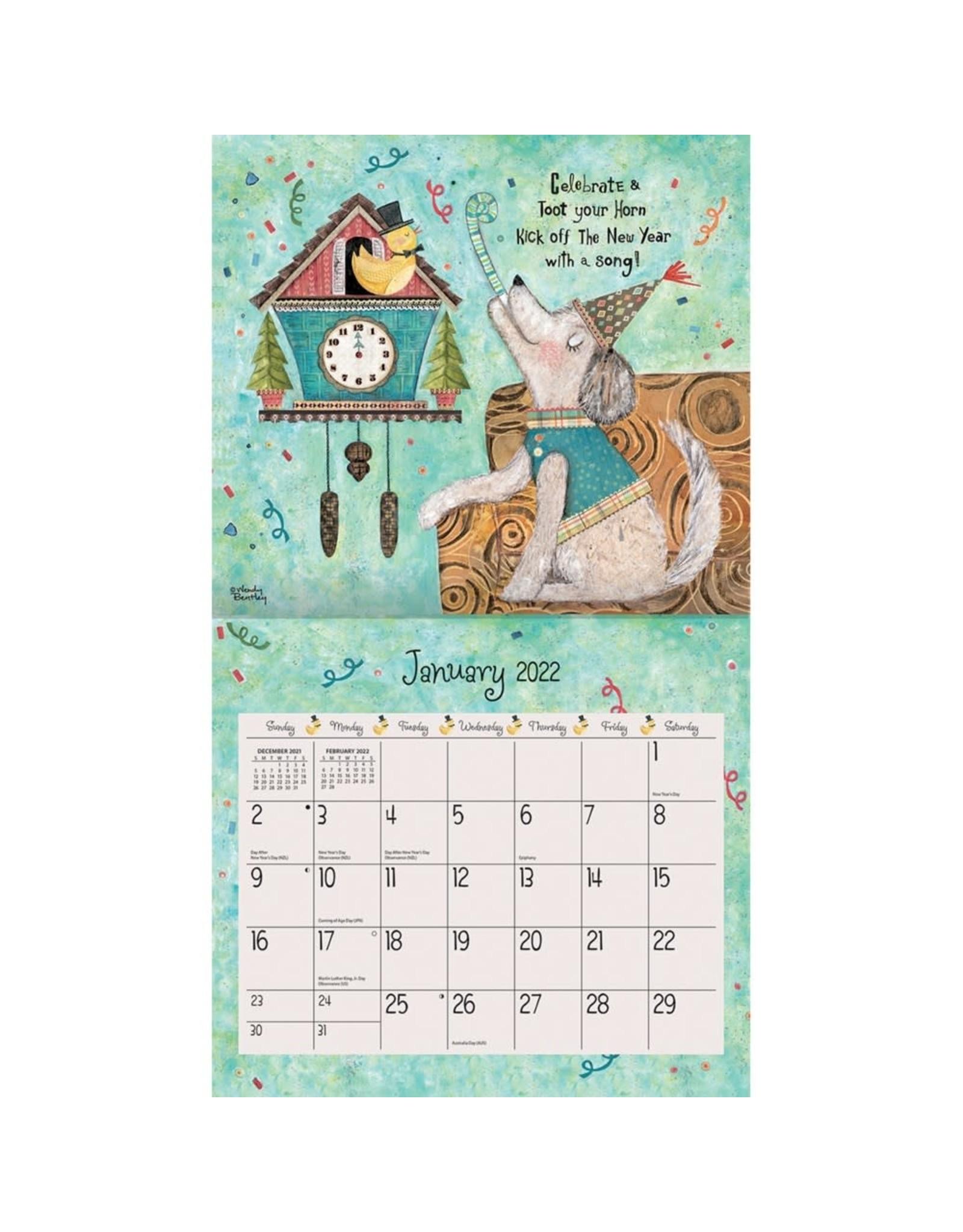 Lang Calendars BFCAL2 2022 Lang Calendar/Favorite Things