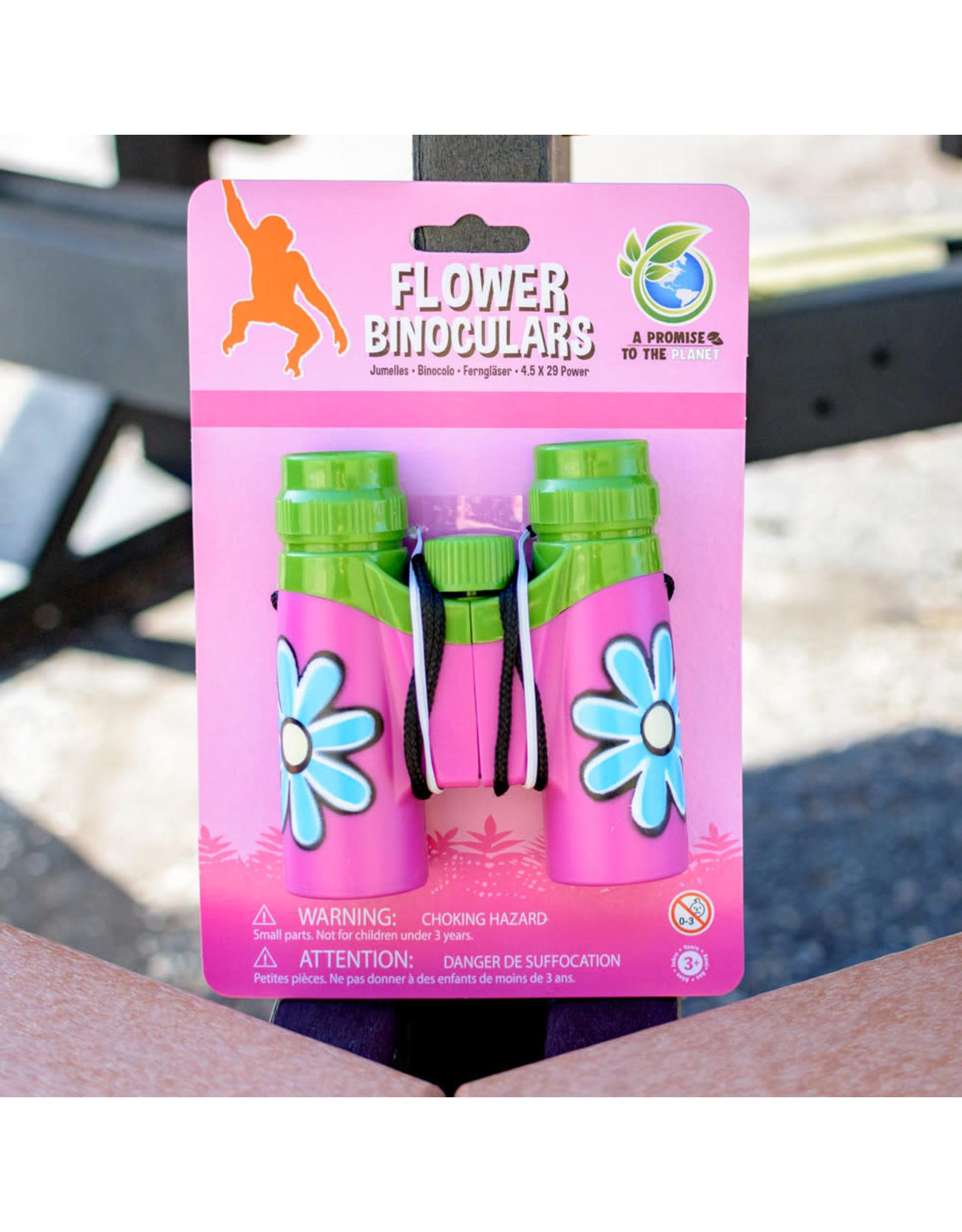 Wild Republic FOPPINK Pink Childrens binoculars