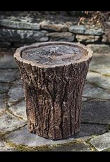 Campania CIFT258  Cast Stone Adirondack Fountain in Pietra Nuova (dark brown)