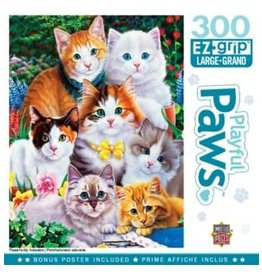 Masterpieces BF31919 300pc puzzle Playful Paws