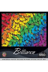 Masterpieces BF31987 550pc puzzle Fluttering Rainbow